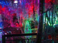 Meow Wolf's House of Eternal Return in Santa Fe, NM Meow Wolf Santa Fe, Eternal Return, Amusement Parks, Wolves, Big Day, Places Ive Been, Bugs, Art Decor, Adventure