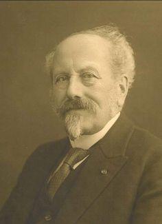 Cornelis Lely (1854-1929), de bedenker van het Zuiderzeeproject, het grootste landaanwinningsproject ooit. Fotocollectie Nieuw Land, Dienst der Zuiderzeewerken