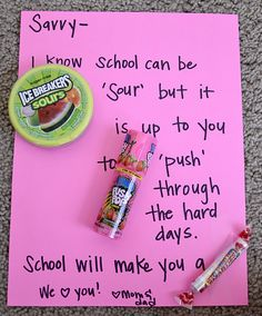 ... Treats on Pinterest | Test Taking, Test Anxiety and Encouragement