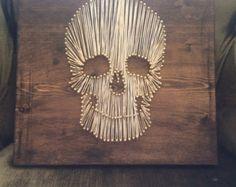 skull string and nails