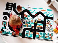 Fabulous Finnish playmats & storage at Minibots