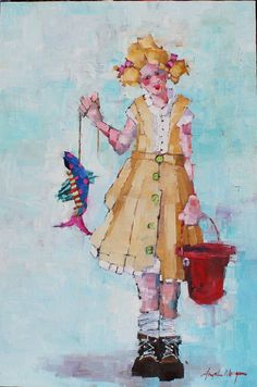 Милые девочки от Angela Morgan (230 работ)