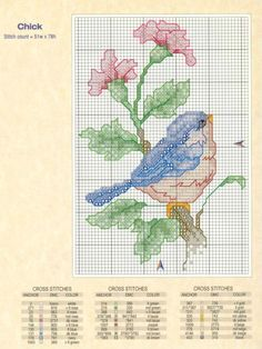 Tiny Cross Stitch, Cross Stitch Bookmarks, Cross Stitch Cards, Cross Stitch Alphabet, Cross Stitch Animals, Cross Stitch Flowers, Cross Stitch Designs, Cross Stitching, Cross Stitch Patterns