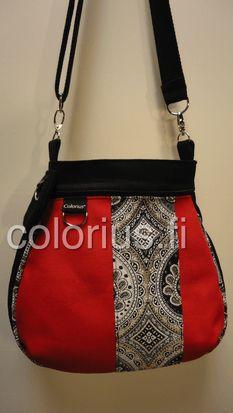 ornament laukku käsilaukku handbag colorius vaihtokuoret
