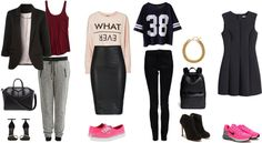 The color palette: Sporty style
