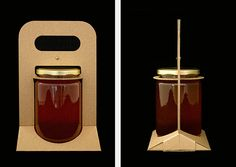 Cardboard Jar Carrier on Behance