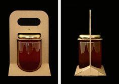 Cardboard Jar Carrier on Behance