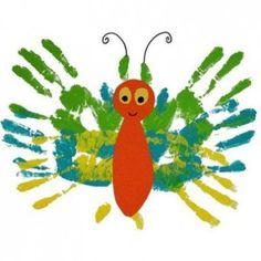 pintar con los dedos - dactilopintura con niños. http://hagamoscosas.com/dactilopintura-en-educacion-infantil/ #hagamoscosas