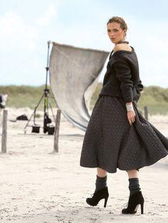 Bell Skirt free pattern