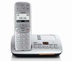 Siemens Gigaset E500A Big Button DECT Cordless Phone