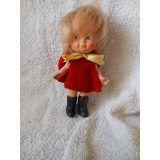 Boneca Antiga   Kitty Da Estrela   Anos 60 Roupa Original