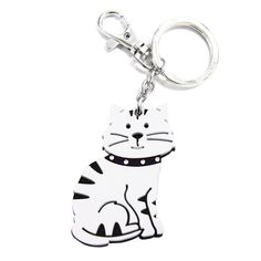 Love Your Breed Acrylic Keychain, Tabby Cat *** Read more reviews of the product by visiting the link on the image. (This is an affiliate link and I receive a commission for the sales)