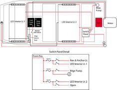 image result for jon boat wiring for lights plywood boat plans, wooden boat  plans,
