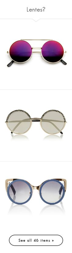 """""""Lentes☻"""" by infinito1 ❤ liked on Polyvore featuring accessories, eyewear, sunglasses, glasses, circle sunglasses, round lens sunglasses, revo sunglasses, flip sunglasses, retro sunglasses and sunnies"""