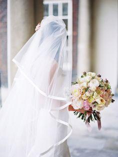 London Wedding from Polly Alexandre Wedding Show, Wedding Veils, Wedding Looks, Perfect Wedding, Dream Wedding, Bridal Veils, Bridesmaid Bouquet, Wedding Bouquets, Wedding Dresses
