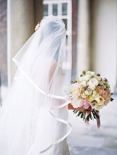 shades of pink and ivory #bouquet | Photography: Polly Alexandre - alexandreweddings.com, Florals by http://www.jamieaston.com/