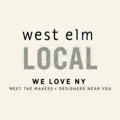 It's not a glossy mag, but it is a great blog...Thea Grant is mentioned in west elm's blog as part of the new 'west elm local' assortment in DUMBO featuring Brooklyn, New York and NYC makers, designers & artisans