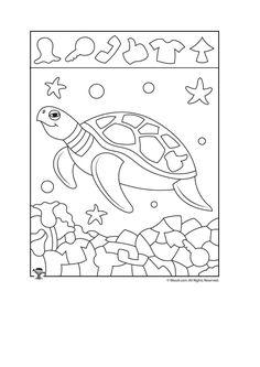 Hidden Picture Puzzles, Hidden Pictures, Origami, Kindergarten, Education, Learning, School, Sd, Crafts