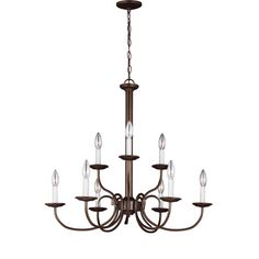 Found it at Joss & Main - Anka 9-Light Candle-Style Chandelier