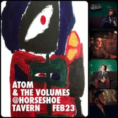 Atom And The Volumes at Horseshoe Tavern Musicals, Movies, Movie Posters, Art, Art Background, Films, Film Poster, Kunst, Cinema