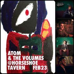 Atom And The Volumes at Horseshoe Tavern