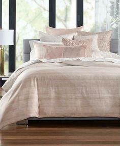 Hotel Collection Woodrose Cotton Full/Queen Duvet Cover, Created for Macy's - Pink King Comforter, Queen Duvet, Comforter Sets, Living Colors, Hotel Collection Bedding, Smart Furniture, Mattress Brands, Bedding Collections, Comforters