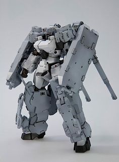 Frame Arms cannon mecha 3/4ths view