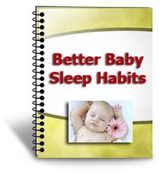 A free book on getting your baby to sleep through the night.