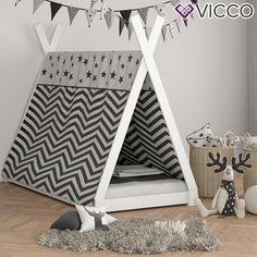 VICCO Kinderbett TIPI Weiß Kinderhaus Bild 4