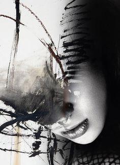Abstract Girl 2 - Antonio Mora