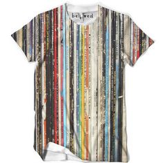 Mens Records Tee