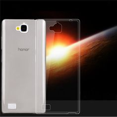 Ultra Thin Soft TPU Protective Case Cover For Huawei Honor 3C