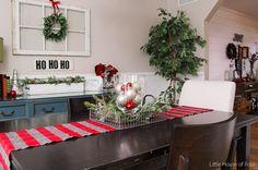 Christmas home tour- dining room