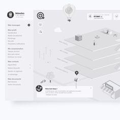 Conception & UX : mission innovation De l'architecture de site à l'expérience de navigation, notre ligne directrice à été dictée par une volonté d'insufler au site un esprit jeune, ludique et communautaire. Un kit complet de wireframes à été livré au client pour appuyer notre réflexion.