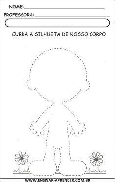 ATIVIDADES ESQUEMA CORPORAL   Cantinho do Educador Infantil
