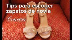 Tips para escoger zapatos de novia