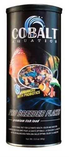Cobalt Aquatics Pro Breeder Flakes Premium Fish Food - 3 oz - ON SALE! http://www.saltwaterfish.com/product-cobalt-aquatics-pro-breeder-flakes-premium-fish-food-3-oz