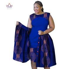 2018 summer african dresses for women Plus Size Women sleeveless cotton Dress o-neck africa print clothing natural African Fashion Ankara, Latest African Fashion Dresses, African Print Fashion, Africa Fashion, Short African Dresses, African Print Dresses, African Fashion Traditional, African Print Dress Designs, Shweshwe Dresses