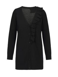 Italian Chic, Malene Birger, Fun Prints, Black Cardigan, No Frills, Just In Case, Buy Now, Collections, Detail