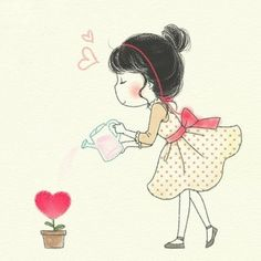 Explore amazing art and photography and share your own visual inspiration! Heart Art, Whimsical Art, Cute Illustration, Belle Photo, Cute Art, Troll, Art Drawings, Anime Art, Doodles