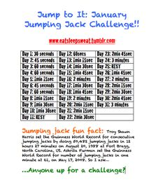 Actual January challenge