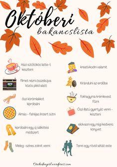 A lényeg, hogy sok-sok jó élménnyel gazdagodjon az októberünk. Autumn Inspiration, Craft Activities, Fall Crafts, Teaching, Holidays, Feelings, Children, Diy, Photography
