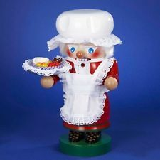 "Steinbach 10.5"" Mrs. Santa Troll Nutcracker ES1528"