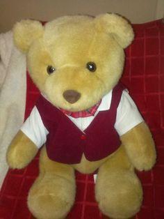 STEIFF TEDDY BEAR CO PROMOTIONAL ADVERTISING POSTCARD STYLE PHOTO INSERT CARD