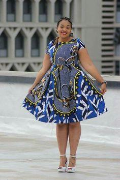 Ankara Xclusive: Beautiful Ankara African Print Style For Plus Size Ladies African Fashion Ankara, African Inspired Fashion, Latest African Fashion Dresses, African Print Fashion, Africa Fashion, Short African Dresses, Ankara Short Gown Styles, African Print Dresses, African Prints
