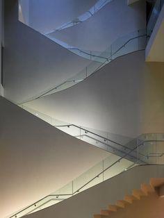 Stairs.  Ashmolean Museum renovation @ Oxford 2009