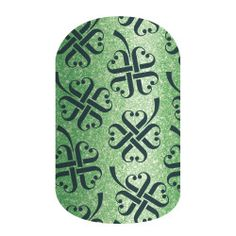 Lucky You | Jamberry  Jamberry Nail Wraps Nail Art St. Patrick's Day St. Patty's Clover Shamrock Pot of Gold