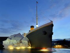 The Titanic Museum Attraction is not to be missed -USA TODAY. This interactive museum contains 400 artifacts. While on your self guided tour you can walk up the Grand Staircase, steer the ship, and even feel the coldness of 28 degree water. Touch a real live, growing iceberg and hear actual survivor stories. Within the Discovery Room you can look at the photos of John Joslyns dive to the Titanics resting place.