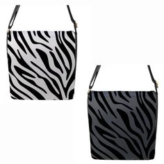White or Grey Zebra Stripe Chameleon Removable Flap Shoulder Bag (Petite) Chameleon, Baby Items, Shoulder Bags, Take That, Buy And Sell, Fashion Outfits, Grey, Stuff To Buy, Ash