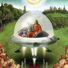 A origem Extraterrestre de Cristo - Jesus Seria um Astronauta com dons Paranormais?